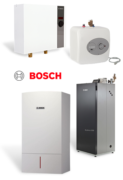 Bosch Water Heaters and Boilers